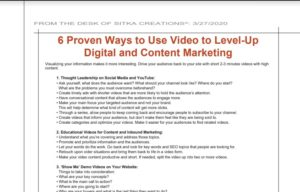 Read more about the article 6 Proven Ways to Use Video to Level-Up Digital and Content Marketing