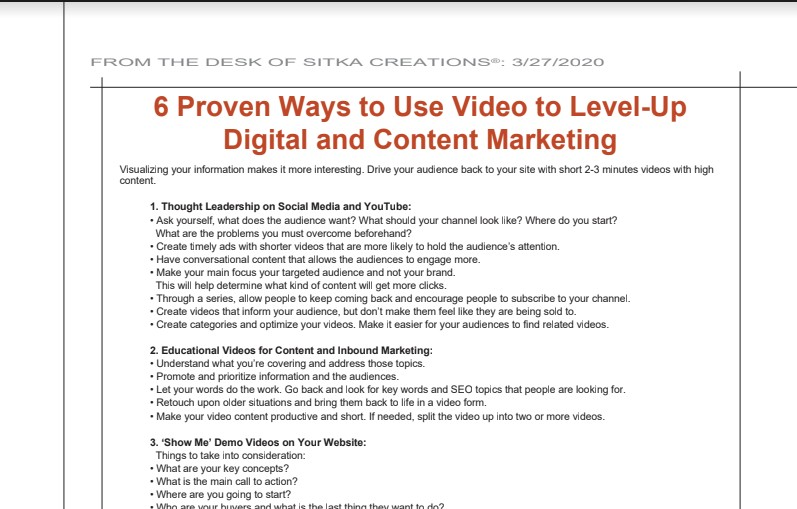 You are currently viewing 6 Proven Ways to Use Video to Level-Up Digital and Content Marketing