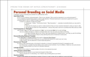 Read more about the article Spring Marketing tips – Personal Branding on Social Media