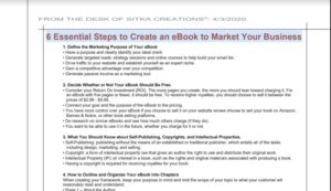 Read more about the article Creating an Ebook to Market Your Business