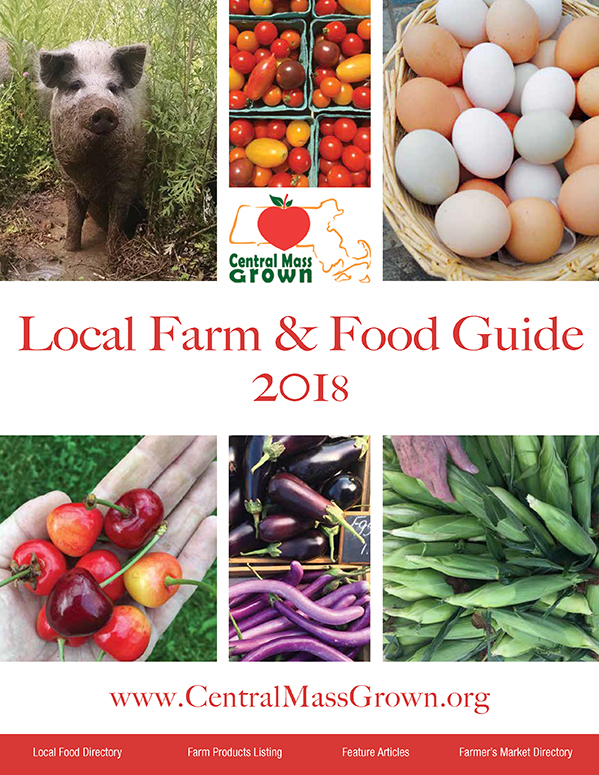 Central Mass Grown Local Farm & Food Guide 2018 - Designed by Sitka Creations
