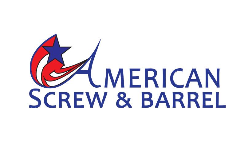 Logo design for American Screw & Barrel. Designed by Sitka Creations.