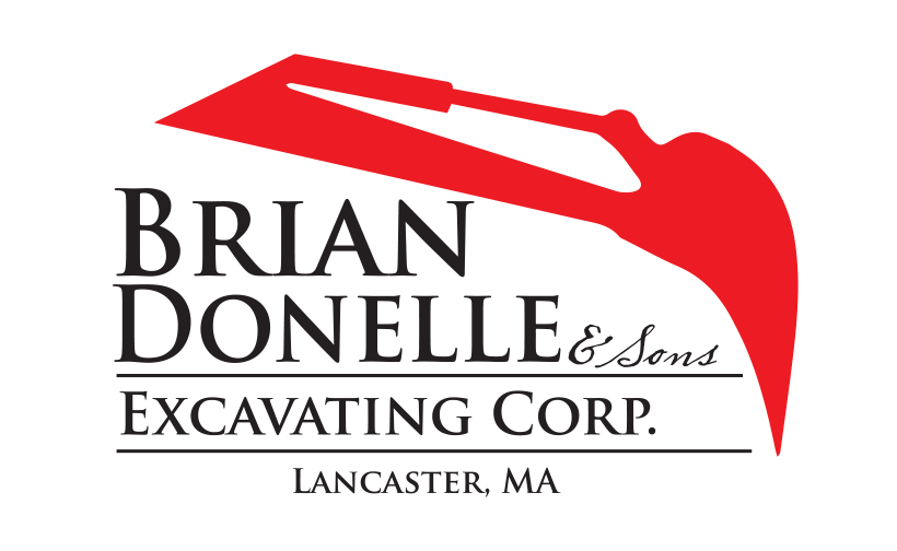 Logo design for Brian Donelle & Sons. Designed by Sitka Creations.
