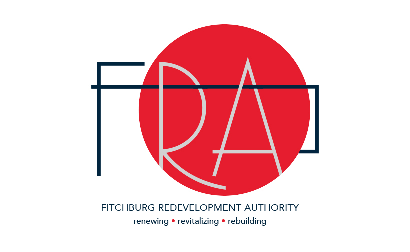 Logo design for Fitchburg Redevelopment Authority. Designed by Sitka Creations.