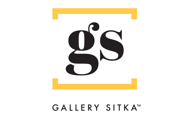Logo design for Gallery Sitka West. Designed by Sitka Creations.