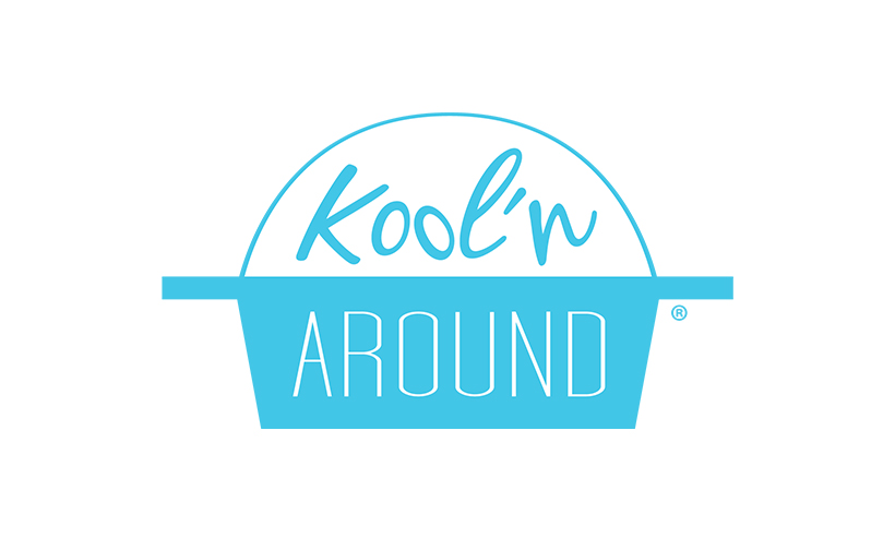 Logo design for Kool N Around. Designed by Sitka Creations.