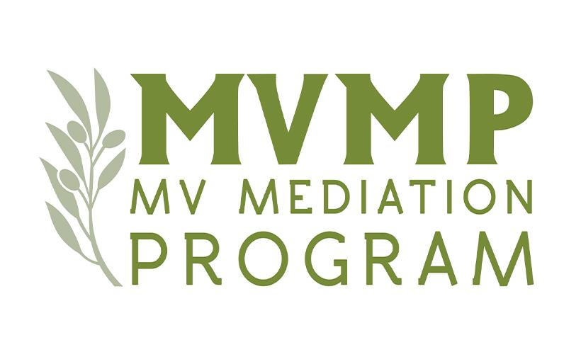 Logo design for Martha's Vineyard Mediation Program. Designed by Sitka Creations.