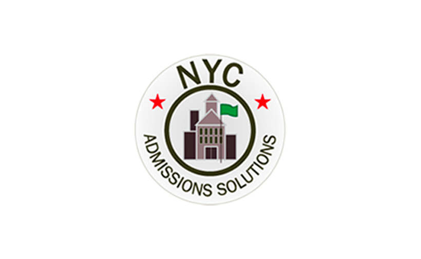 Logo design for NYC Admissions Solutions. Designed by Sitka Creations.