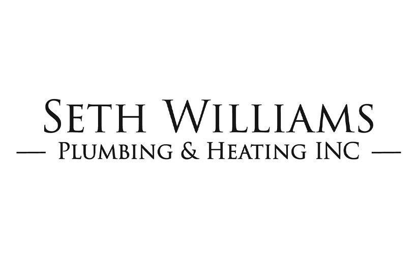 Logo design for Seth Williams Plumbing & Heating, Inc. Designed by Sitka Creations.