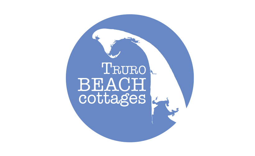 Logo design for Truro Beach Cottages. Designed by Sitka Creations.