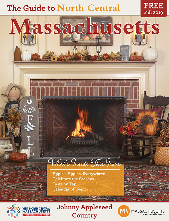 Cover design for The Guide To North Central Massachusetts Fall 2019